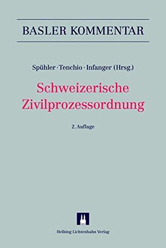 9783719032302: Schweizerische Zivilprozessordnung (ZPO)