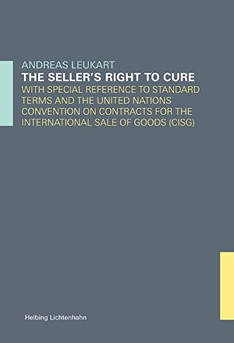 The seller's right to cure: Andreas Leukart