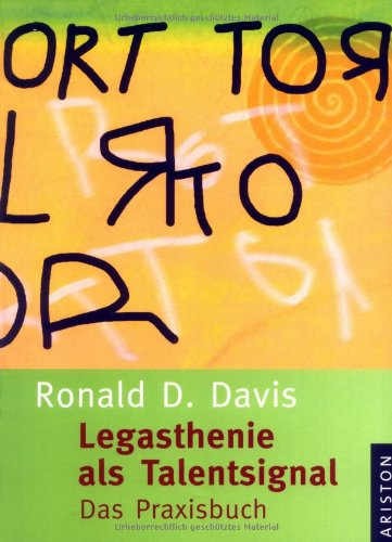 9783720527385: Legasthenie als Talentsignal
