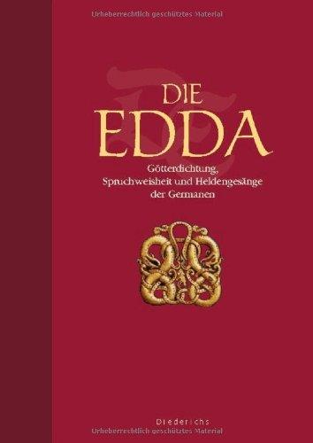 9783720528221: Die Edda. Prachtausgabe: Götterdichtung, Spruchweisheit und Heldengesänge der Germanen