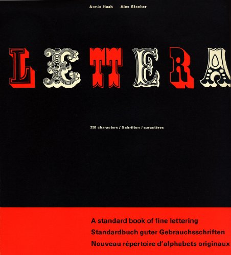 9783721200386: Lettera, Vol. 1: A Standard Book of Fine Lettering