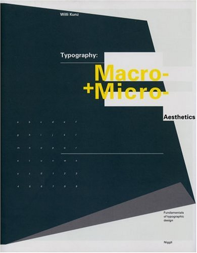 9783721203486: Typography: Macro and Microaesthetics