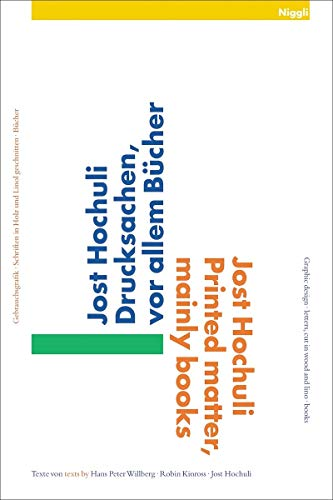 Printed Matter, Mainly Books: Hochuli, Jost