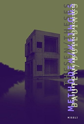 9783721206616: Staufer & Hasler Architects: Thesis, Methods, Buildings (English and German Edition)