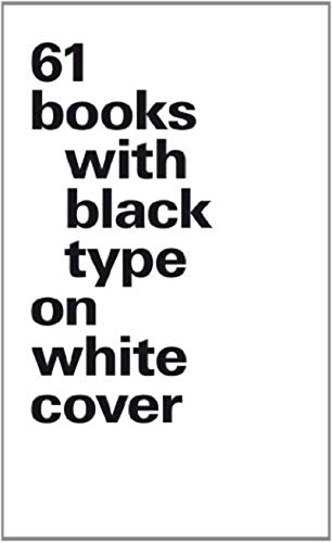 9783721209198: 61 Books with Black Type on White Cover: (small format)