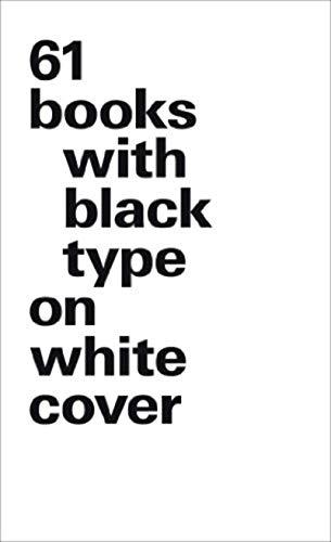61 books with black type on white cover: Bernd Kuchenbeiser