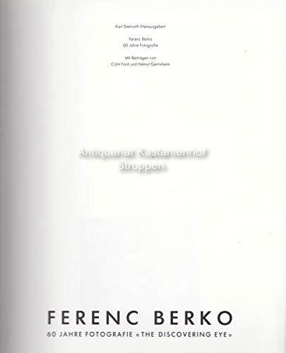 9783723104248: Ferenc Berko: 60 Jahre Fotografie