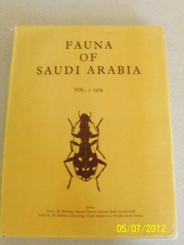 Fauna of Saudi Arabia (v. 3- :