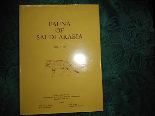 Fauna of Saudi Arabia, vol. 7: BUTTIKER, W. &