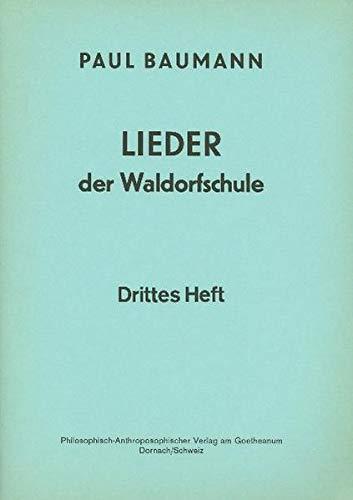 9783723502631: Lieder der Waldorfschule. Diverse Texte mit Noten für Klavierbegleitung