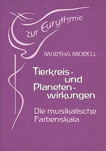 9783723504635: Tierkreis- und Planetenwirkungen in der sichtbaren Sprache: Die musikalische Farbenskala