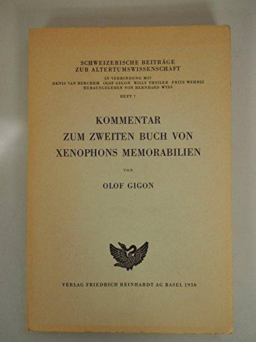 9783724502876: Kommentar zum zweiten Buch von Xenophons Memorabilien