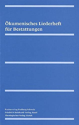 9783724511915: Ökumenisches Liederheft für Bestattungen