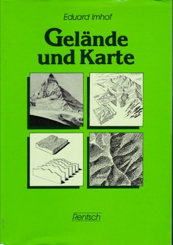 9783724902256: Gelände und Karte