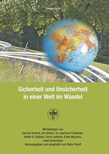 9783725309047: Sicherheit und Unsicherheit in einer Welt im Wandel