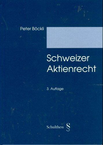 9783725547333: Schweizer Aktienrecht (Livre en allemand)