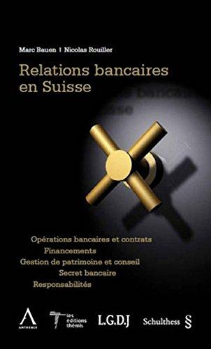 9783725557844: relations bancaires en Suisse