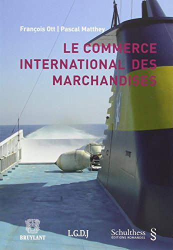 9783725559305: Commerce International des Marchandises