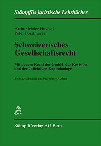 9783727208010: Schweizerisches Gesellschaftsrecht