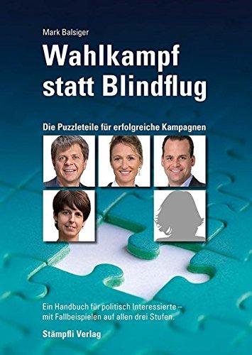 Wahlkampf statt Blindflug: Mark Balsiger