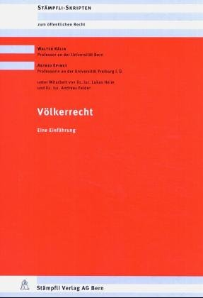 9783727215087: Zum öffentlichen Recht : Völkerrecht