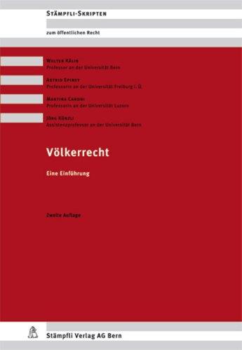 9783727215247: Völkerrecht