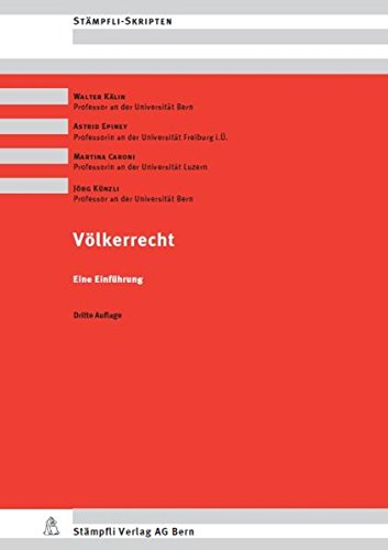 9783727215414: Völkerrecht