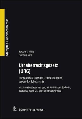 9783727225284: Urheberrechtsgesetz (URG)