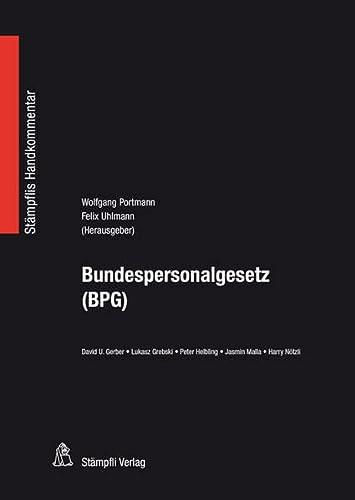 9783727225642: Bundespersonalgesetz (BPG)