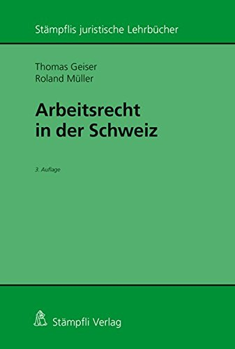 Arbeitsrecht in der Schweiz: Thomas Geiser