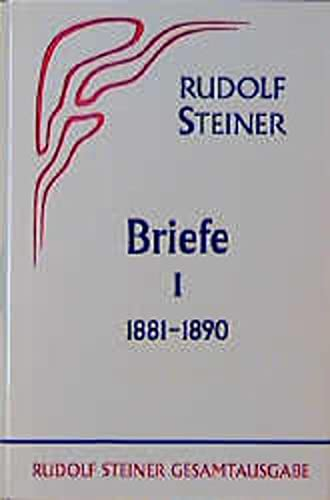 9783727403804: Briefe I 1881 - 1890