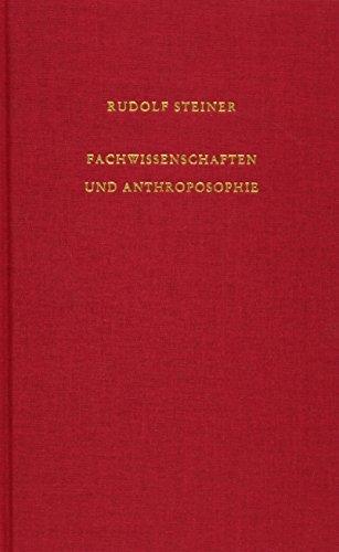 Fachwissenschaften und Anthroposophie