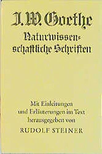 9783727452109: Naturwissenschaftliche Schriften.