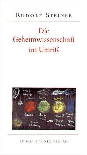 9783727457104: Die Geheimwissenschaft im Umriß.