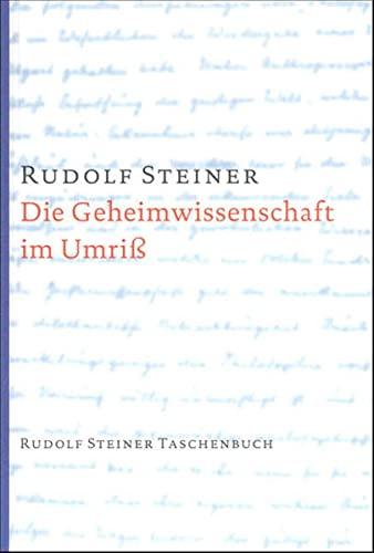 9783727460111: Die Geheimwissenschaft im Umriß.