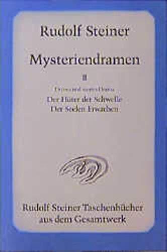9783727460807: Mysteriendramen II: Der Hüter der Schwelle / Der Seelen Erwachen