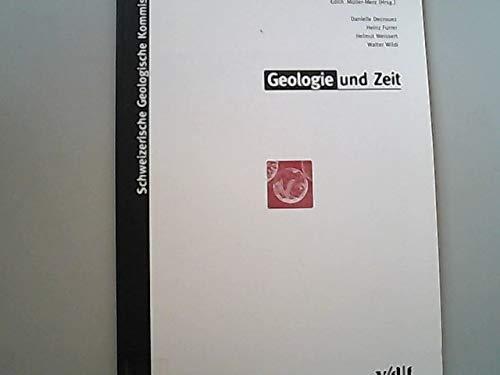 9783728123794: Geologie und Zeit (Livre en allemand)