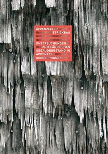 9783728134462: Appenzeller Strickbau