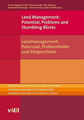 9783728134790: Land Management: Potential, Problems and Stumbling Blocks (European Academy of Land Use and Development (EALD)) (German Edition)