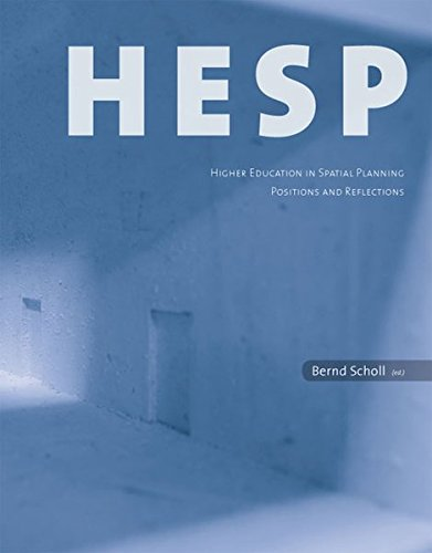 9783728135223: HESP - Higher Education in Spatial Planning: Positions and Reflections