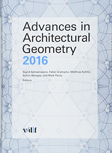 9783728137777: Advances in Architectural Geometry 2016
