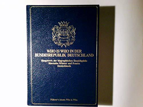 9783729000209: Who is Who in der Bundesrepublik Deutschland