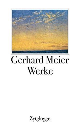 Werke 1 bis 4 Gerhard Meier: Gerhard Meier