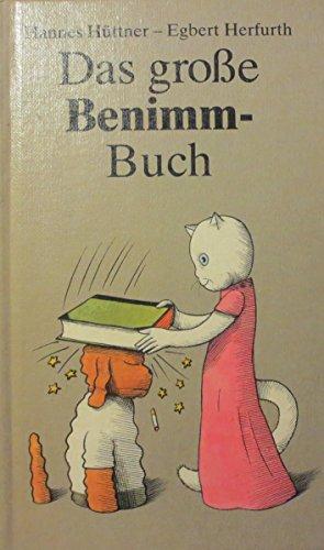 9783730203958: Das große Benimm-Buch