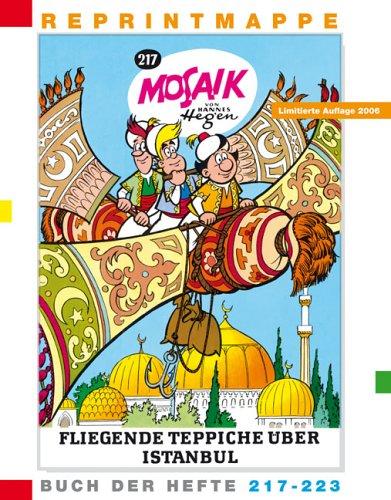 9783730219904: Die Digedags. Reprintmappe Mosaik. Buch der Hefte 217 - 223: 12 Hefte.
