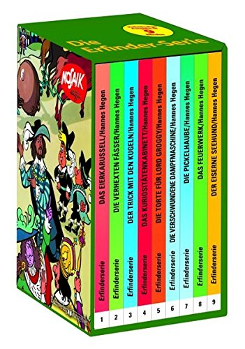 9783730220009: Erfinder-Serie des Mosaik 9 Bände: Digedagbücher