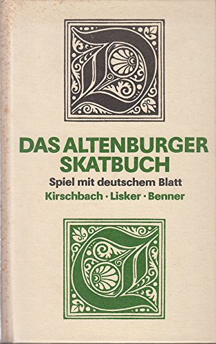 9783730300114: Das Altenburger Skatbuch. Spiel mit deutschem Blatt