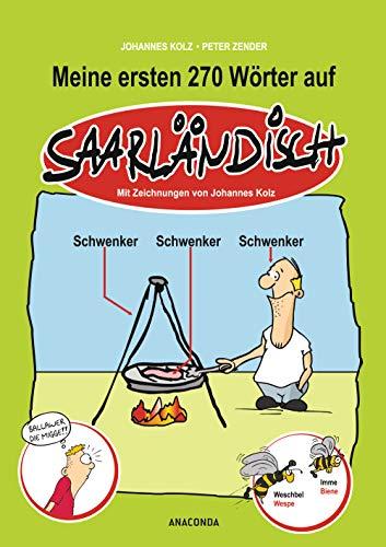 9783730600559: Meine ersten 270 Wörter auf Saarländisch