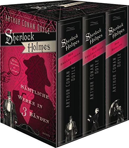 Sherlock Holmes - Sämtliche Werke 3 Bände: Arthur Conan Doyle