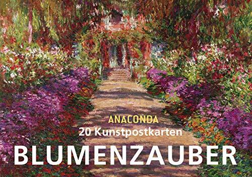 9783730601884: Postkartenbuch Blumenzauber